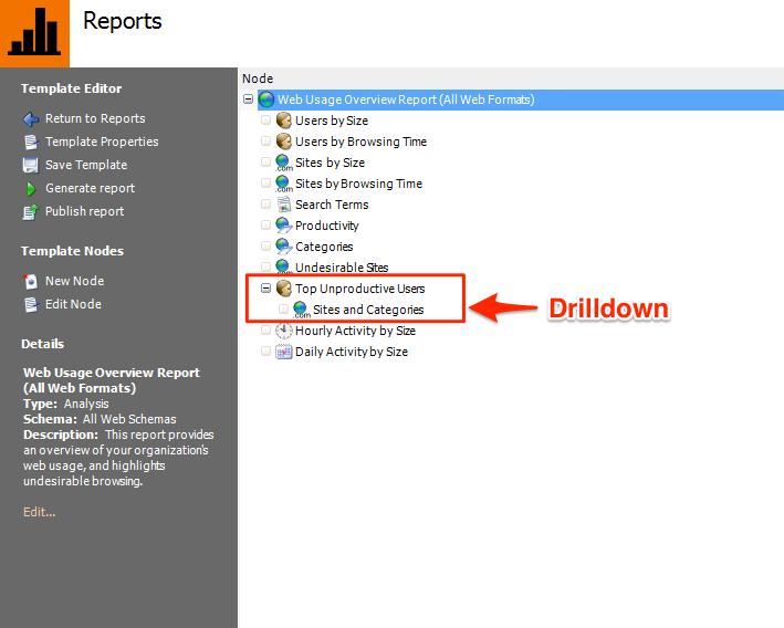 Analysis Reports - Vantage 3 0 Documentation